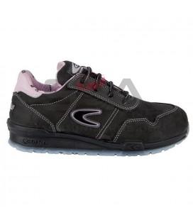 Zapato de seguridad ALICE S3 SRC Negro/Rosa - COFRA 78500-010