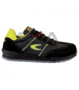 Zapato de seguridad OWENS S1 P SRC Negro/Amarillo - COFRA 78400-000