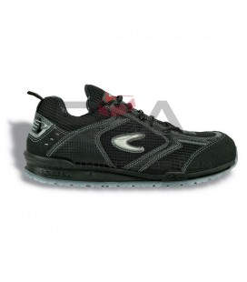 Zapato de seguridad PETRI S1 P SRC Negro/Negro - COFRA 78450-002