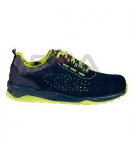 Zapato de seguridad PROMOTION S1 P SRC Marino/Amarillo - COFRA 79560-002