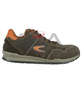 Zapato de seguridad YASHIN S3 SRC Marrón/Naranja - COFRA 78500-000