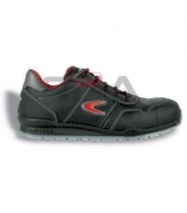 Zapato de seguridad ZATOPEK S3 SRC Negro/Rojo - COFRA 78500-002