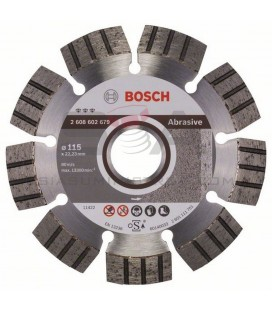 Disco de corte de diamante Best for Abrasive 22,23 mm - BOSCH