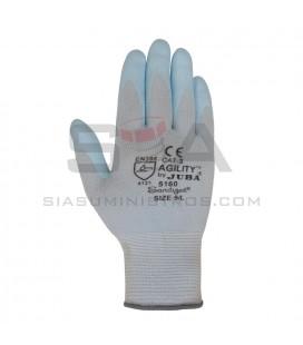 Guante de Nylon® sin costuras con recubrimiento de nitrilo con forro de vulrizo interior - JUBA 5160W