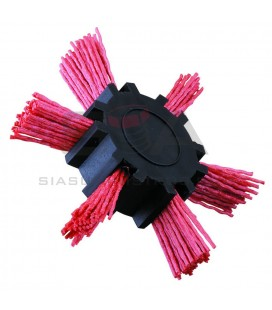 Cepillo HELICE 100 mm, nylon, 6mm, CNA - JAZ