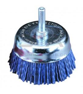 Cepillo TAZA, nylon, 6mm, CNA - JAZ