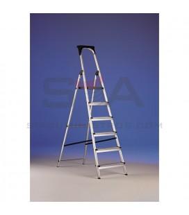 Escalera doméstica de aluminio con portaherramientas - SVELT CASA PLUS