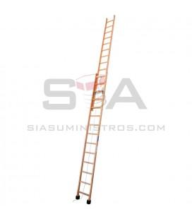 Escalera de madera de 2 tramos extensible - SVELT S2