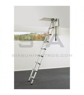 Escalera escamoteable de aluminio - SVELT LOFT