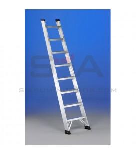 Escalera de aluminio de un tramo de peldaño ancho - SVELT GLC