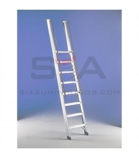 Escalera de acceso portátil de aluminio - SVELT DIA