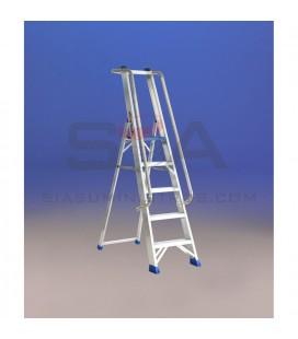 Escalera de almacén con plataforma - SVELT REGINA ESPECIAL