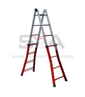 Escalera mixta de acero y aluminio - SVELT SERAFINA MIXTA