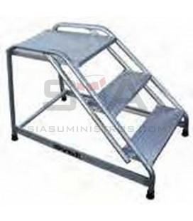 Taburete profesional de aluminio con plataforma - SVELT CARGO PLATAF.