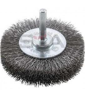 Cepillo circular alambre de acero ondulado - FORUM 42370010