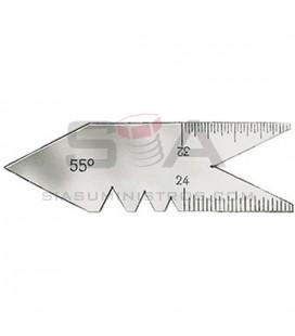 Calibre de acero p. rosca de paso triangular - FORUM 42525020