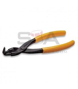 Alicate para retenes interiores de bocas acodadas a 90° mangos PVC - BETA 1034