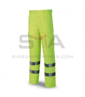 Pantalón NORMAL tergal, alta visibilidad, amarillo - MARCA 388-PFYE