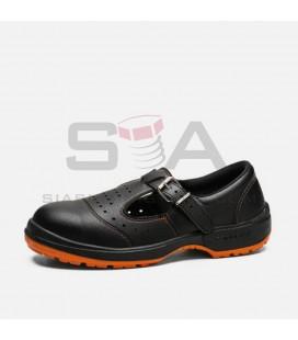 Zapato de seguridad ACACIA S1+P+SRC Negro - ROBUSTA 92030