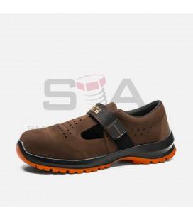 Zapato de seguridad SÁNDALO S1+P+SRC Marrón - ROBUSTA 92096