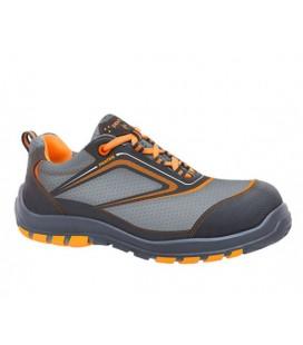 Zapato de seguridad NAIROBI S3 Negro Naranja - PANTER