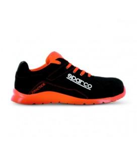 Zapato de seguridad PRACTICE S1P Negro y rojo - SPARCO 7517