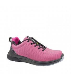 Zapato de seguridad FORZA SPORTY S3 ESD Fucsia - PANTER