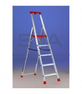 Escalera de tijera en aluminio y una subida - SVELT MAREA
